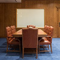 Smart Glass Conference room